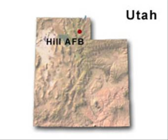 BRAC Map of Utah