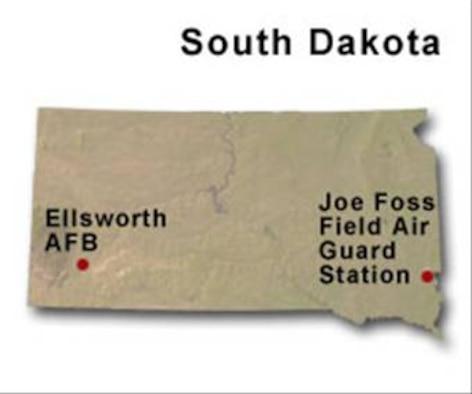 BRAC Map of South Dakota