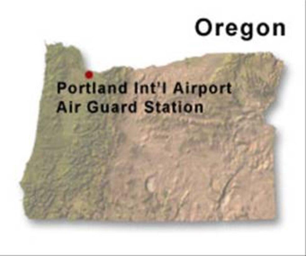 BRAC map of Oregon