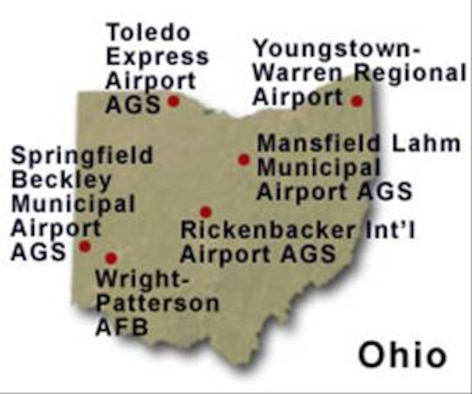 BRAC Map of Ohio