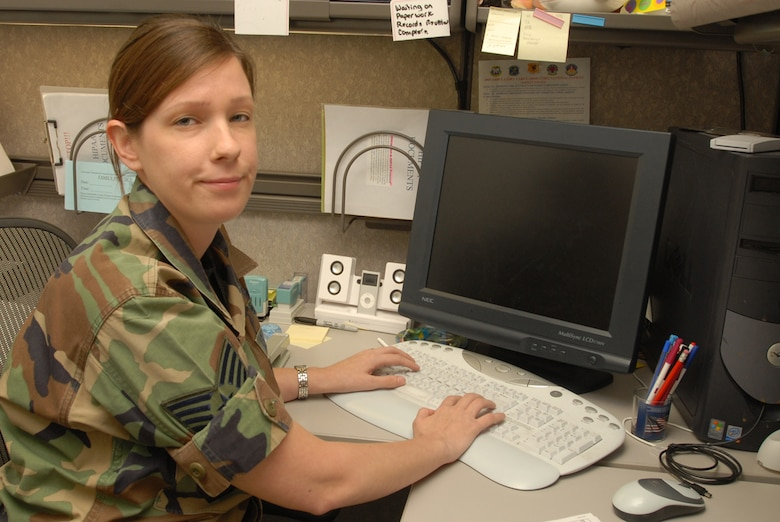 Staff Sergeant Kristen Treml, 18th Medical Group, was selected for warrior of the week for Kadena Air Base, Japan. She led her staff in processing 1,700 medical bills in a three-week period. During this time, they were able to recoup $83,000 to purchase critical medical supplies and deployment immunizations in the second quarter of the fiscal year alone.