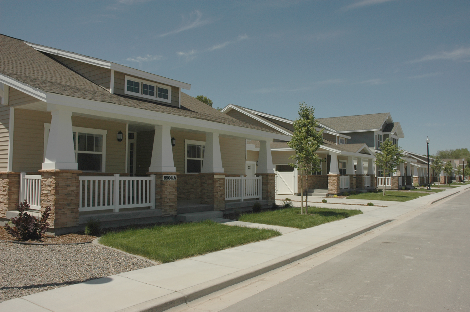 New Base Housing Area Set To Open Mountain Home Air Force Base