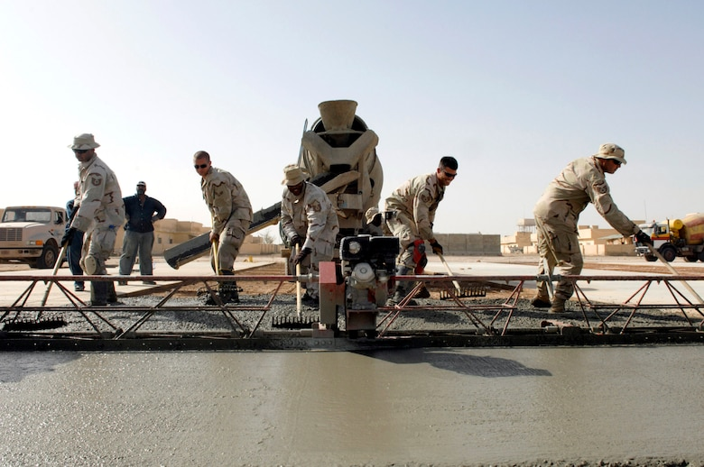 Civil engineer Airmen paving way for Iraqi Army > U S  Air