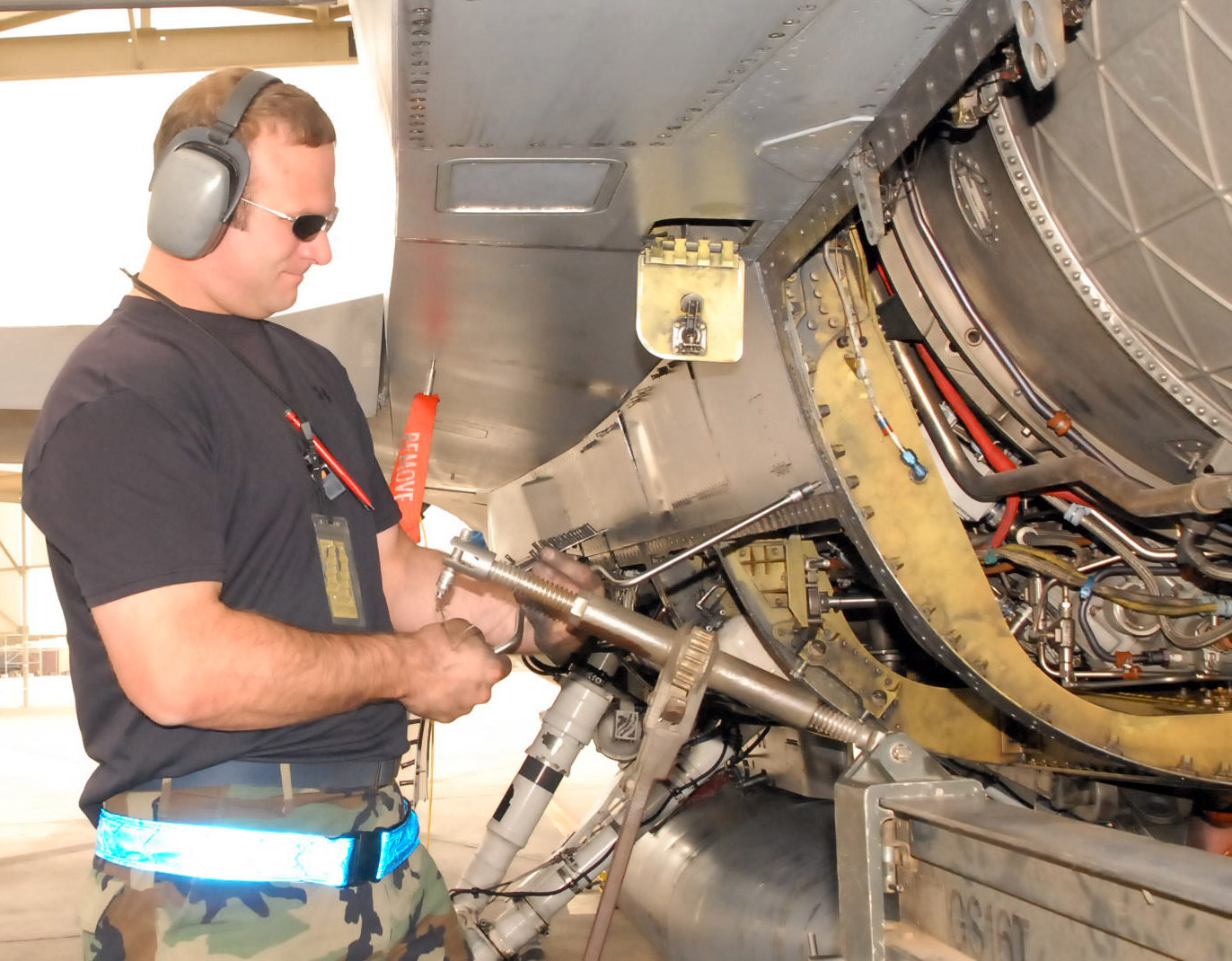 Why we pull engines > Luke Air Force Base > Article Display F Aircraft Wiring Harness on