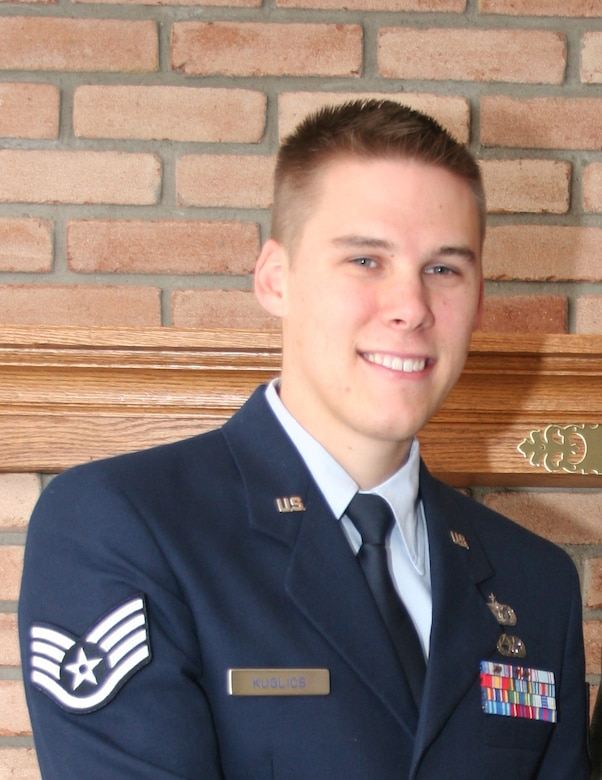 Special Agent Matthew Kuglics, a staff sergeant stationed at Lackland Air Force Base, Texas, was killed while traveling in a convoy when it was struck by an improvised explosive device June 5 in Kirkuk, Iraq.