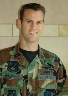 """Capt. Nick Wasinger, 4th Space Operations Squadron: """"It's nice. There's a lot more of what you'd expect from a BX."""""""
