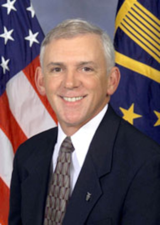 EGLIN AIR FORCE BASE, Fla. -- Thomas Robillard, a retired Eglin senior level executive with the Air Armament Center, was recognized recently with a 2006 Presidential Rank Award in the Meritorious Executive rank category. (U.S. Air Force courtesy photo)