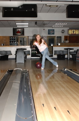 Fuller, 19, has bowled at Keesler since she was 7 years old.