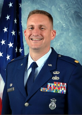 SCHRIEVER AIR FORCE BASE, Colo. -- Maj. Glen Christensen assumed command of the 50th Security Forces Squadron here June 21. (U.S. Air Force photo)