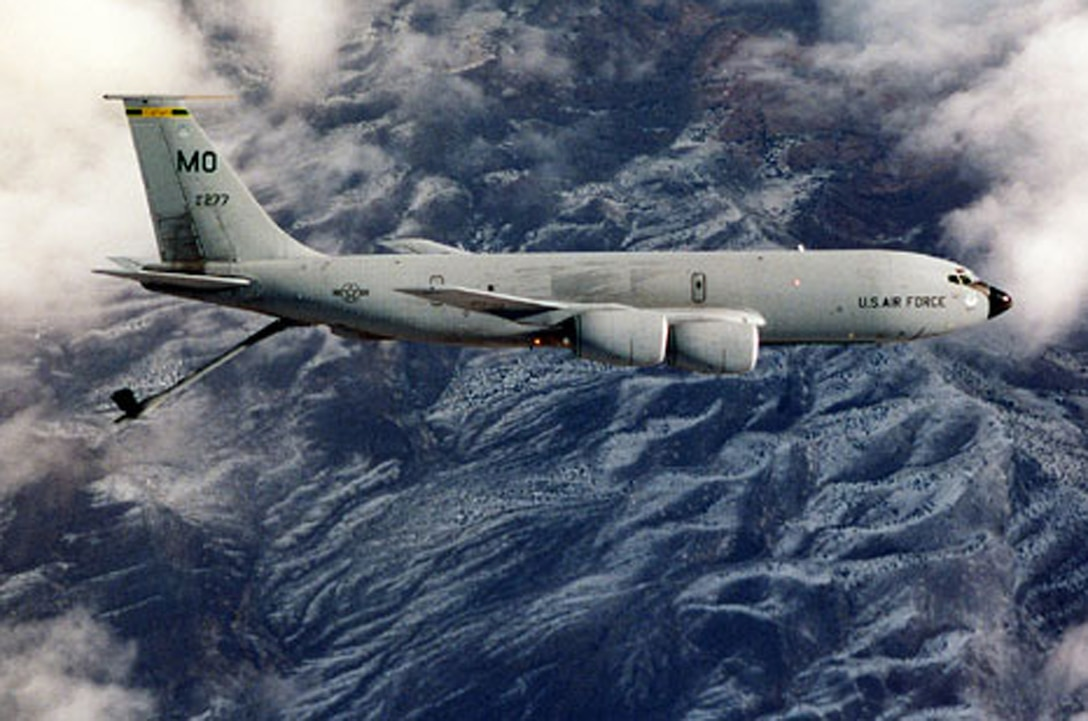 FAIRCHILD AIR FORCE BASE, Wash. -- On June 28, 1957, the 93rd Air Refueling Squadron, then located at Castle Air Force Base, Calif., received the world's first jet tanker, the KC-135 Stratotanker, and was tasked with training all Strategic Air Command crew members in the new aircraft. (Courtesy photo)