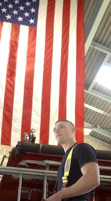 VANDENBERG AIR FORCE BASE, Calif. -- Senior Airman Keith Armour, a firefighter with the 30th Civil Engineer Squadron, is the Air Force Military Fire Fighter of the Year for the Department of Defense Fire and Emergency Services Awards.