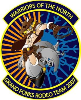 2007 Grand Forks Air Force Base Rodeo logo