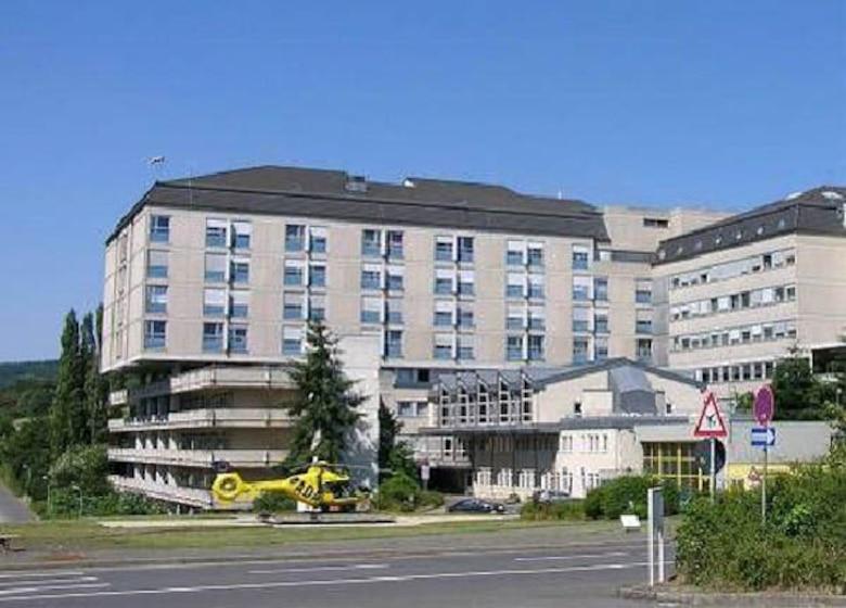 The St. Elisabeth Krankenhaus is located at Koblenzer strasse 91, Wittlich, Germany.