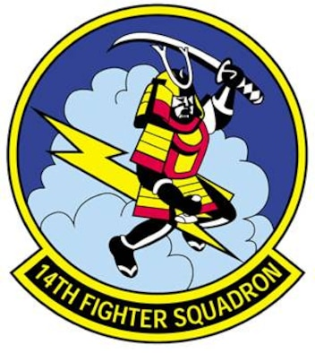 14th Fighter Squadron patch