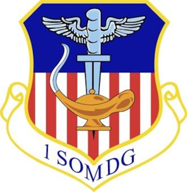 1st Special Operations Medical Group shield
