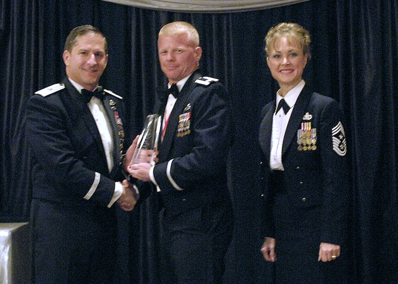 Company Grade Officer of the Year, Capt. Jay Bertsch, 49th Aircraft Maintenance Squadron.
