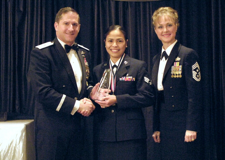 Airman of the Year, Senior Airman Janice Norwood, 49th Medical Support Squadron.
