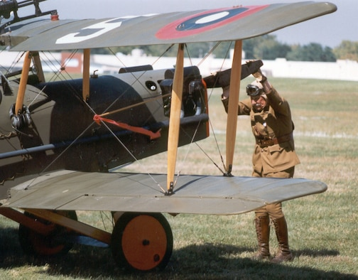 DAYTON, Ohio -- The Dawn Patrol Rendezvous World War I Fly-In takes place every other year at the National Museum of the United States Air Force. (U.S. Air Force photo)