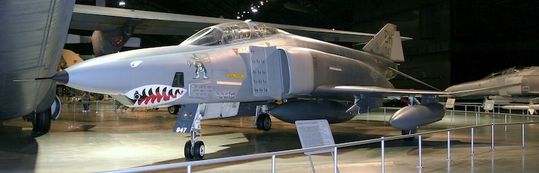 DAYTON, Ohio -- McDonnell Douglas RF-4C Phantom II in the Cold War Gallery at the National Museum of the United States Air Force. (Photo courtesy of Airshow Traveler)