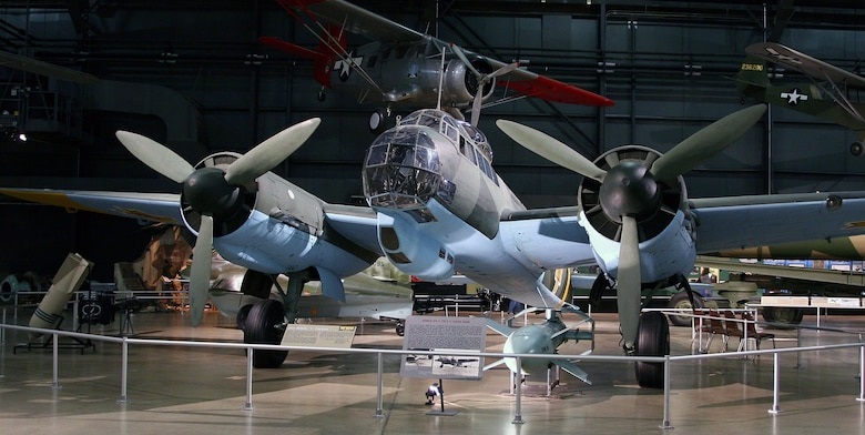 DAYTON, Ohio -- Junkers Ju 88D in the World War II Gallery at the National Museum of the United States Air Force. (Photo courtesy of Airshow Traveler)