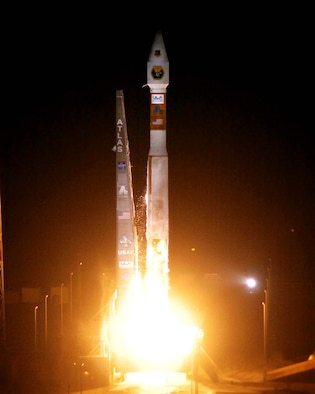 Six satellites were launched into orbit on board a single Atlas V Evolved Expendable Launch Vehicle March 8. This marks the 50th consecutive successful launch by the Air Force since May 1999. (United Launch Alliance photo/Pat Cokery)