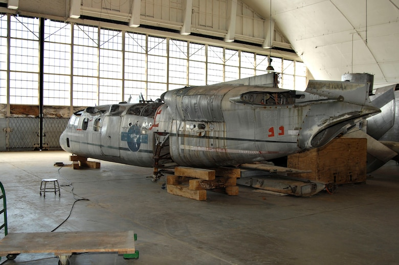 DAYTON, Ohio (02/2007) - Curtiss-Wright X-19 in the restoration hangar at the National Museum of the U.S. Air Force. (U.S. Air Force photo)