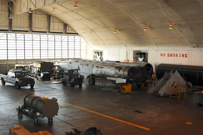 DAYTON, Ohio (02/2007) -- MiG 25 in the restoration area at the National Museum of the U.S. Air Force. (U.S. Air Force photo by Ben Strasser)