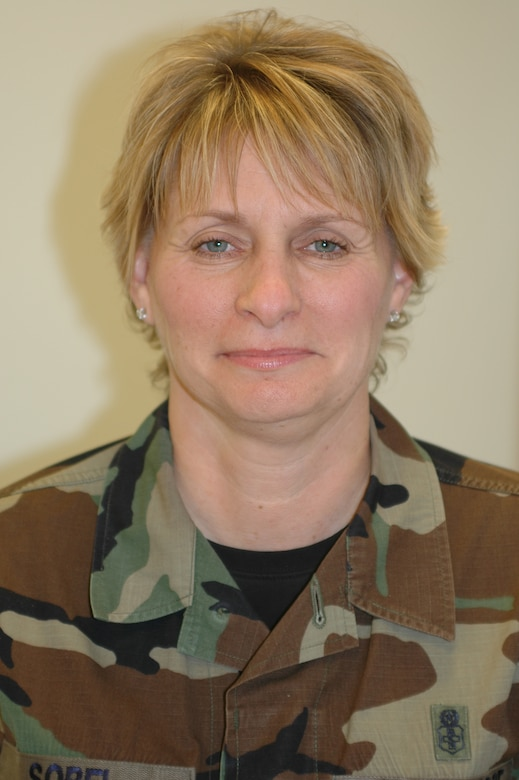 Senior Master Sgt. Michelle Sobel