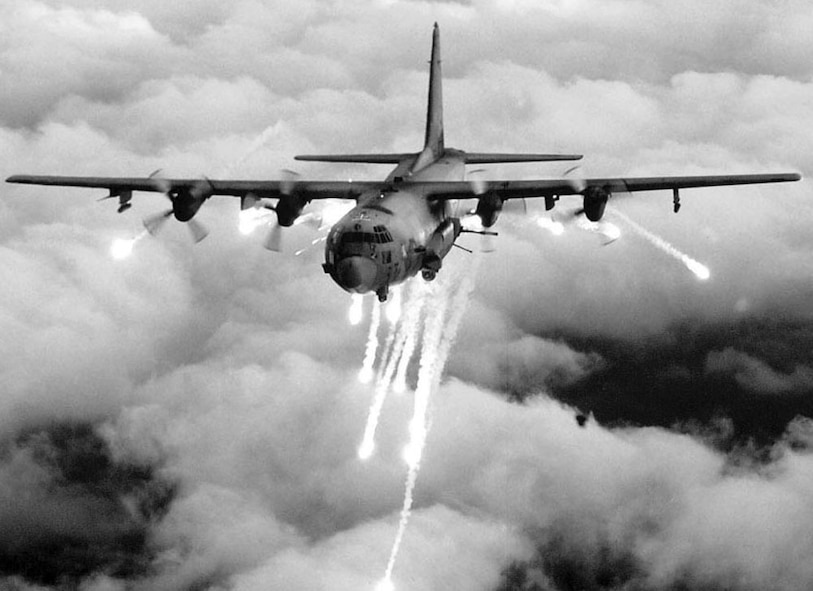 The AC-130H Spectre gunship flown by the 16th Special Operations Squadron is a heavily armed aircraft designed for close air support, armed reconnaissance, interdiction, night search and rescue, and airborne command and control. (Courtesy photo)