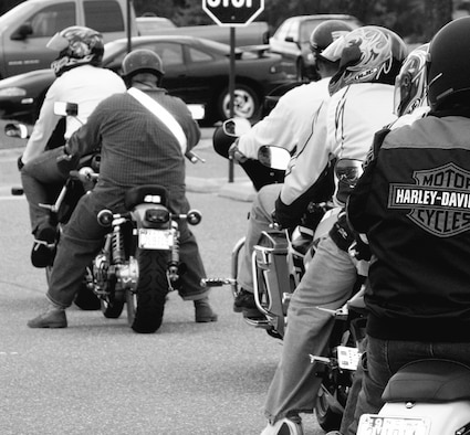 Anyone who rides must take a Motorcycle Safety Foundation-approved class, either the Basic Riders Course or the Experienced Riders Course. Plus, anyone stationed at Pope who rides a sport bike must take the Strategic Riders Course.