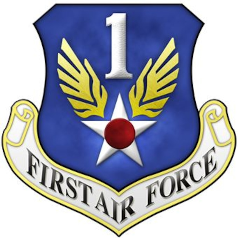 The patch of First Air Force.