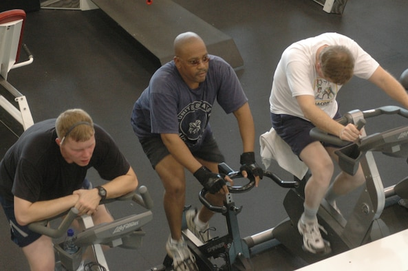Robins Fitness Center has been recognized as a 5-Star program. U. S. Air Force photo by Sue Sapp