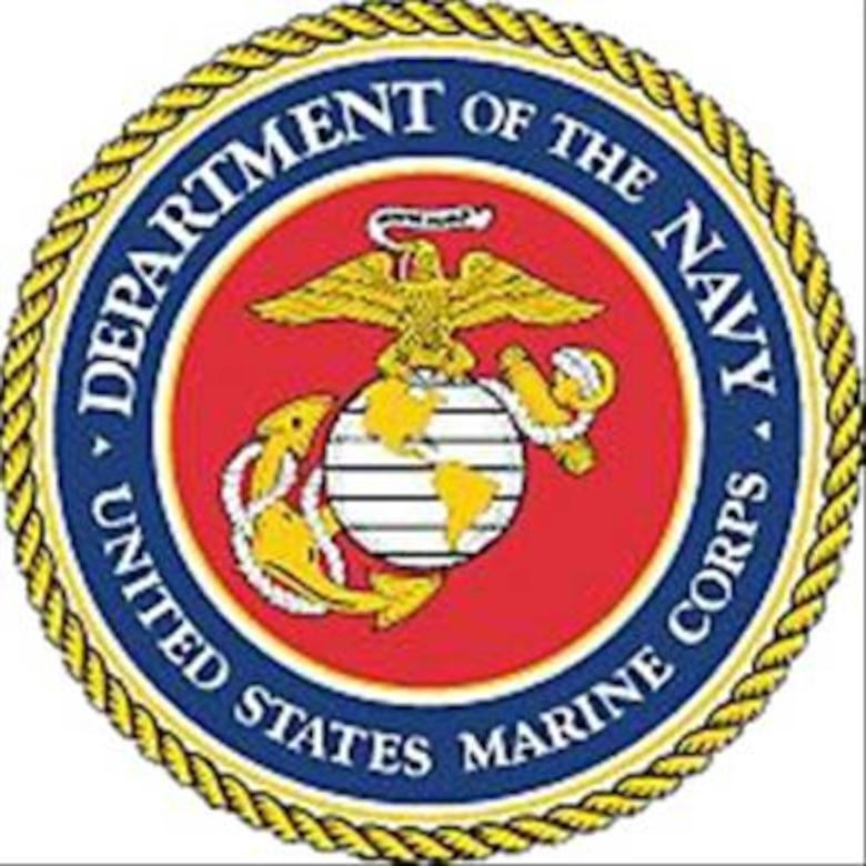 GRISSOM AIR RESERVE BASE, Ind., -- United States Marine Corps logo
