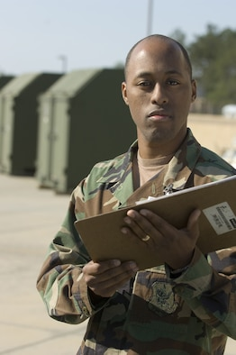 Staff Sgt. John Johnson, 23rd Logistics Readiness Squadron, is the Warrior of the Week for March 29. (U.S. Air Force photo by Staff Sgt. Manuel Martinez)
