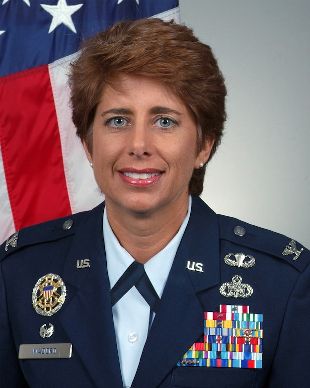 Col. Merrily Madero (Official U.S. Air Force Photo)