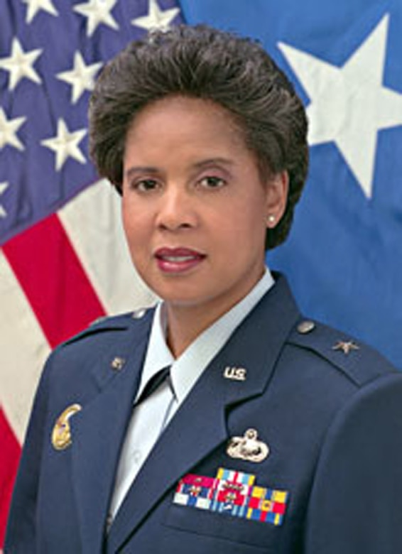 Brig. Gen. Toreaser Steele (Official U.S. Air Force Photo)