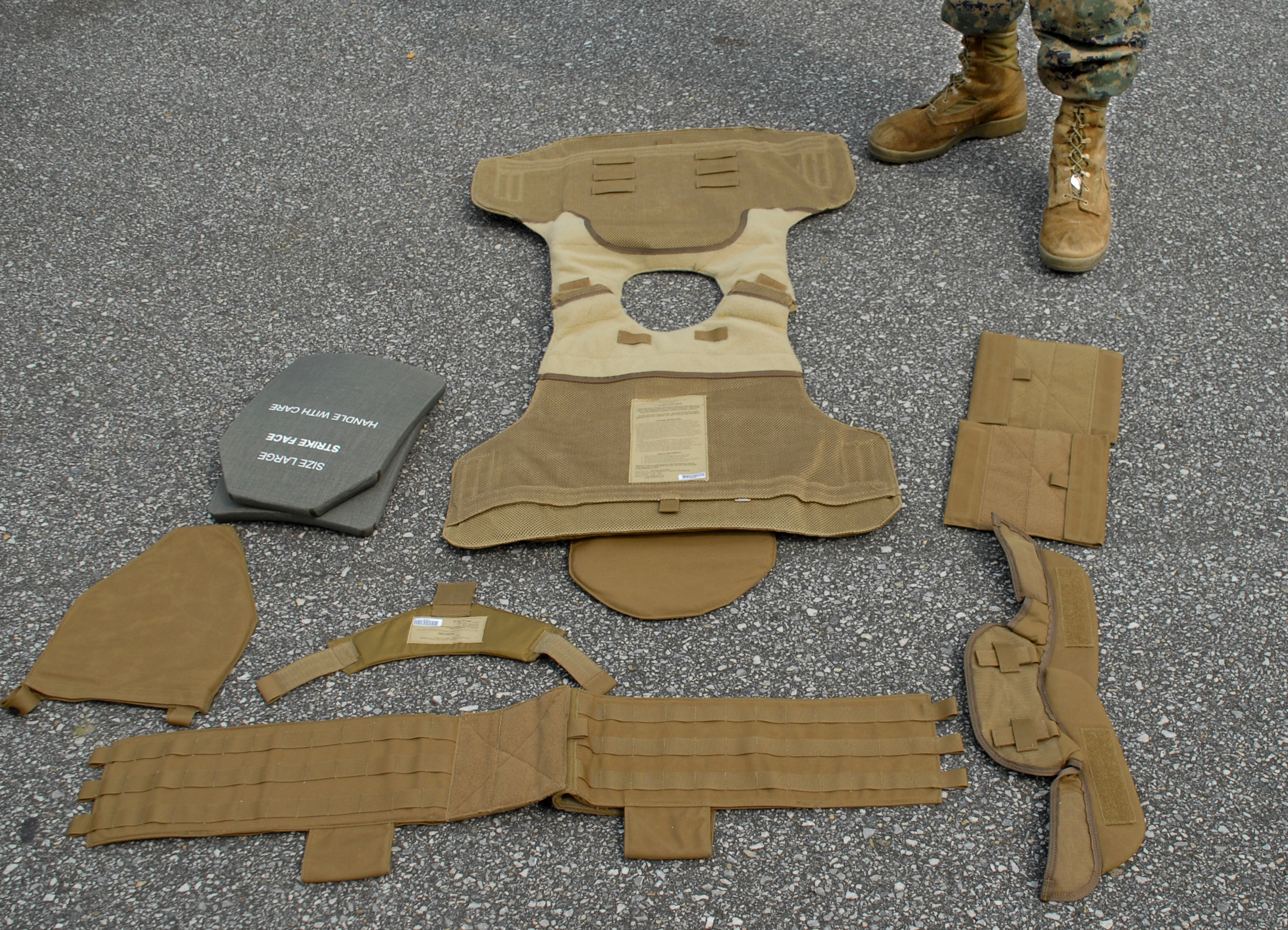 Issued body armor is best available for combat gt headquarters marine