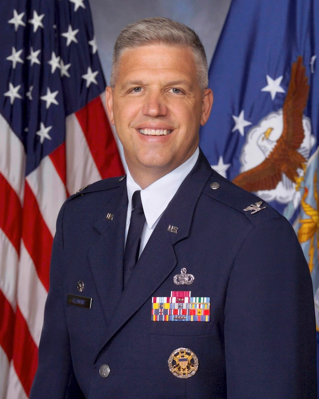 Col. Dean R. Clemons, 96th Air Base Wing commander (U.S. Air Force photo)