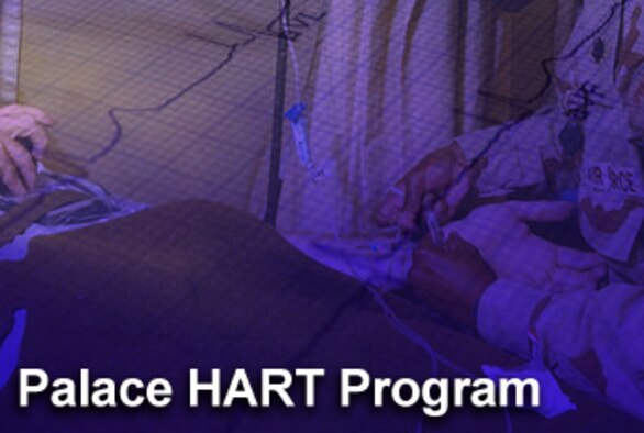 As Airmen continue to serve on the front lines of Iraq and Afghanistan, the Air Force continues to serve its wounded warriors and their families, even years after their combat duty. This dedicated service comes from the Palace HART program, which means Helping Airmen Recover Together.
