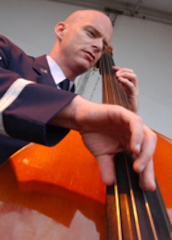 USAF Band of the West String Bass Jon Packard