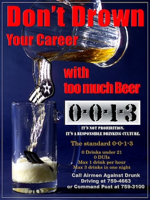 McConnell Air Force Base alcohol awareness