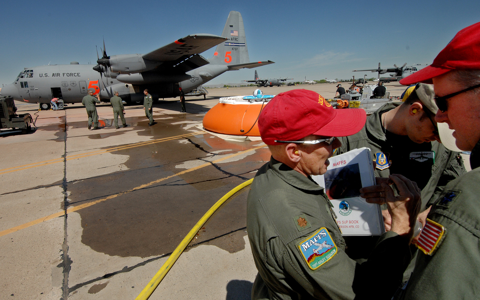 Air Force aerial firefighters train in New Mexico > Air ...