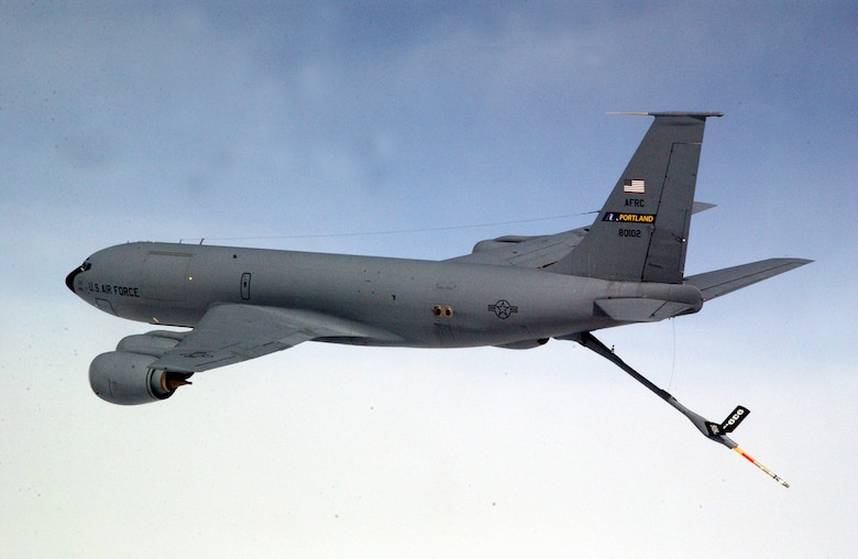 Air Force officials are looking at proposals for a new strategic refueling aircraft, referred to as the KC-X, to replace the aging KC-135 Stratotanker.  (U.S. Air Force photo)