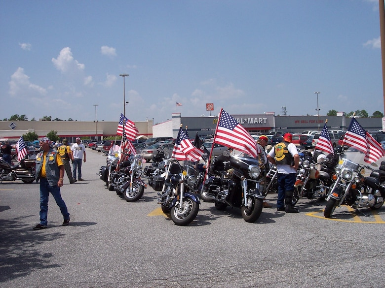 The Patriot Guard Riders are a unique group of motorcyclists spread across the nation dedicated to preserving the sanctity of military funerals.  The PGR attend the funeral services of fallen military members and through strictly legal and non-violent means, shield mourners from any interruptions created by protesters. Courtesy photo
