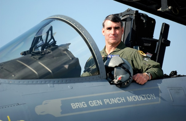 "Brig. Gen. Harold ""Punch"" Moulton, 18th Wing commander since January 2006, will hand over command of the 18th Wing to Brig. Gen. Brett T. Williams on May 24."