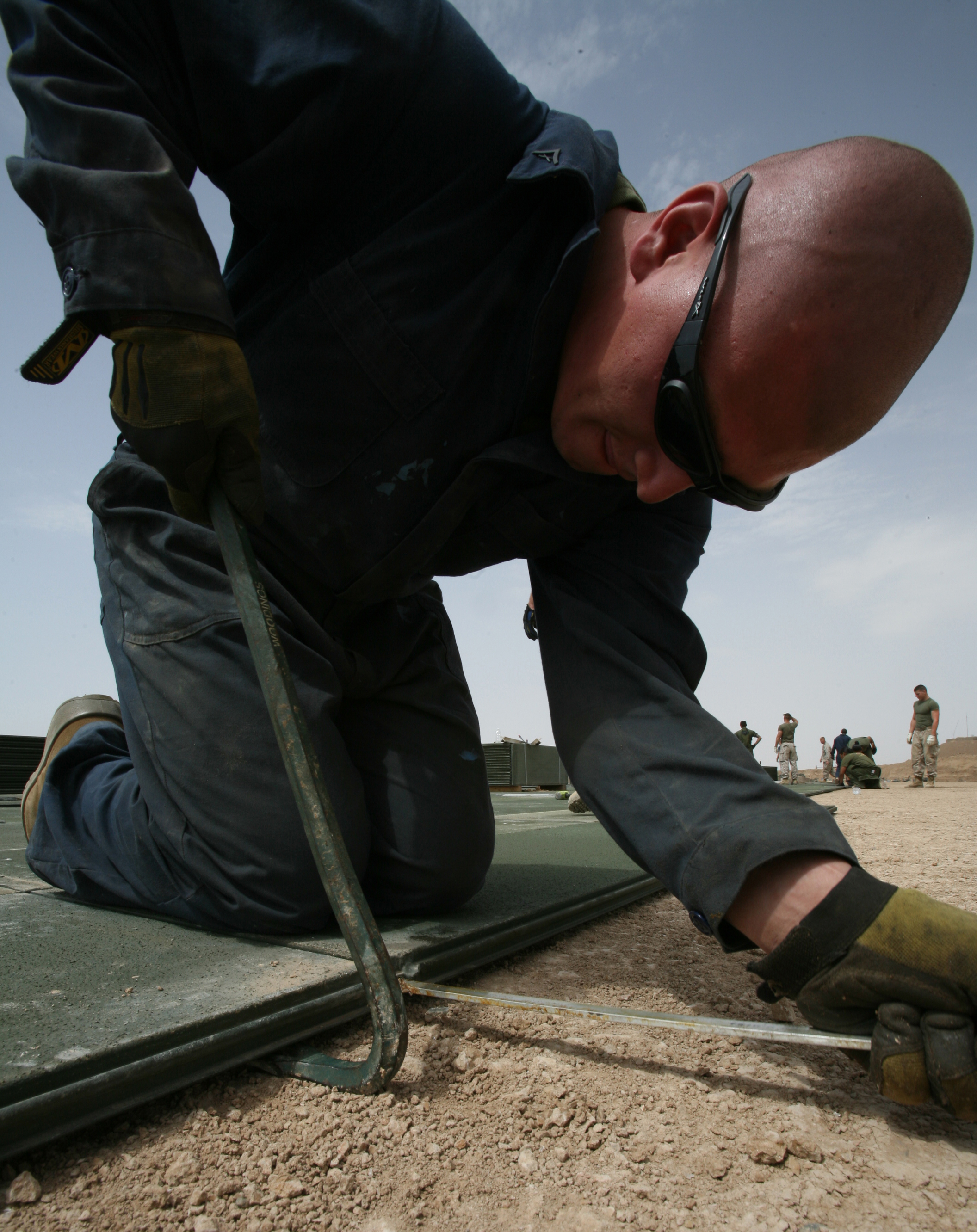 Expeditionary Airfield Technicians Produce Maintain