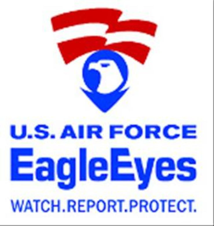 Every citizen, military or civilian, can have a positive effect in the ongoing war on terrorism. The Eagle Eyes program is an anti-terrorism initiative that enlists the eyes and ears of Air Force members and citizens in local community against the war on terror. If you observe any suspicious activity, anytime during the day or night, you can call Homestead Air Reserve Base's Air Force Office of Special Investigations at 224-7900.