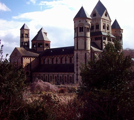 SPANGDAHLEM AIR BASE, GERMANY -- The Maria Laach abbey is the home of more than 60 monks. They obey the commandments of Saint Benedikt of Nursia, who in the 6th century preached a balance of work and prayer. (Courtesy photo)