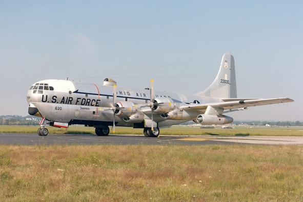 DAYTON, Ohio -- Boeing KC-97L Stratofreighter at the National Museum of the United States Air Force. (U.S. Air Force photo)