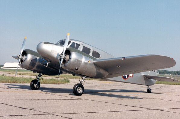 DAYTON, Ohio -- Cessna UC-78B Bobcat at the National Museum of the United States Air Force. (U.S. Air Force photo)